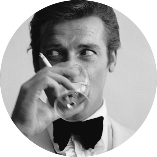 Roger Moore by Peter Buck